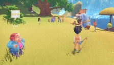 Fishing event in My Time At Portia