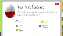 Contract farming in Egg, Inc.