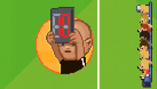 Super Arcade Football: Substituting a player