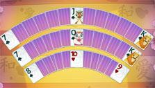 Hand fan in Solitaire Chronicles