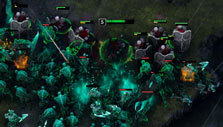Age of Darkness: Final Stand: Holding back the horde