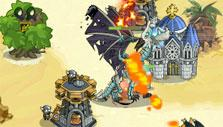 The King of Towers: Dragon attack