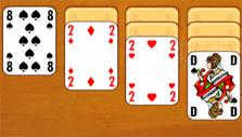 Solitaire Harmony: Queen card