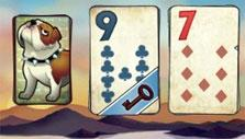 Bulldog theme in Solitaire Blitz