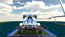 Track Racing Online: Leaping off ramps