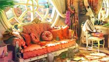 Luxurious interior in Mirrors of Albion
