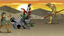 Dragon Fable: Group fighting