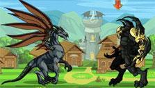 Battle of the titans in Dragon Fable