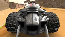 Car with fangs in Kart World 3D