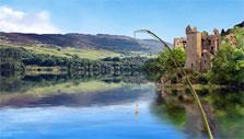 Go Fishing: Urquhart castle