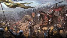 Charging into battle in Imperia Online