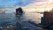 World of Warships: Naval combat