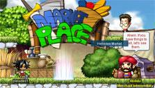 Market place in MapleStory