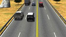 Traffic up ahead in League of Racers