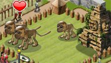 Zoo World 2: Callithrax monkeys