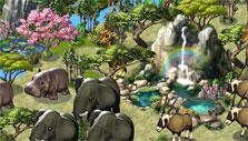 Waterfall in Zoo World 2