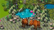 Bisons in Zoo World 2