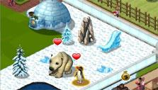 Snow habitat in Zoo World 2