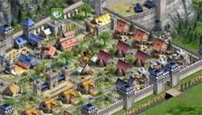 Developed city in Legends of Honor