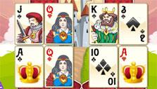 Pretty cards in Neverland Solitaire