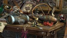 Hidden objects in Haunted Manor: Painted Beauties Collection