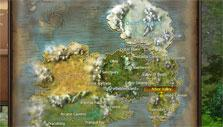 Wings of Destiny world map