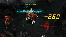 Auto-combat mode in Wings of Destiny
