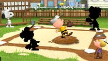Peanuts: Snoopy's Town Tale: Setting up a baseball team