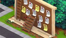 Want Ads in Snoopy's Town Tale