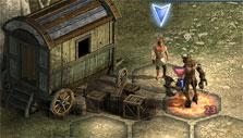 Protecting trader's apprentice in Might & Magic Heroes Online