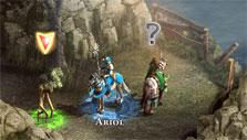 Engaging a Crazed Tree in Might & Magic Heroes Online