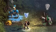 Collecting gold in Might & Magic Heroes Online