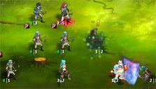 a three-lane battlefield in Kings and Legends