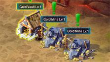 Overlords of War: Gold mines