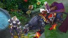 Swords of Divinity: Fire panther mount