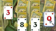 Solitaire Victorian Picnic: Easy mode