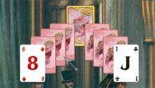 Different card backs in Solitaire Victorian Picnic
