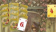 Gold card in Solitaire Victorian Picnic