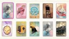 Solitaire Victorian Picnic: Card backs