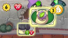PvZ Heroes: Playing a card