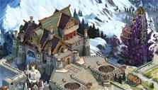Viking castle in Vikings: War of Clans