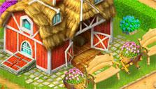 Beautiful decor in Farm Tribe 3