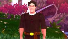 Character customization in Villagers and Heroes