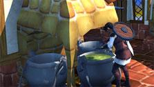 Cooking in Villagers and Heroes