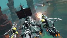 Gameplay in Galactic Junk League