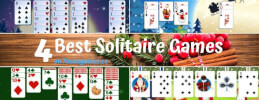 4 Best Solitaire Games on Xmasgames.co thumb