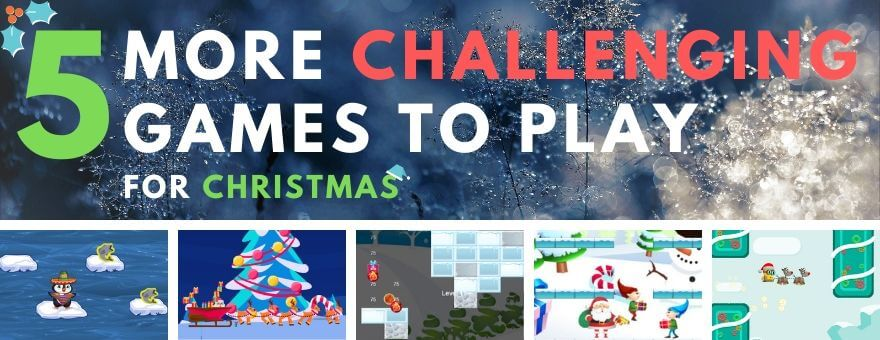 5 More Challenging Games to Play for Christmas large