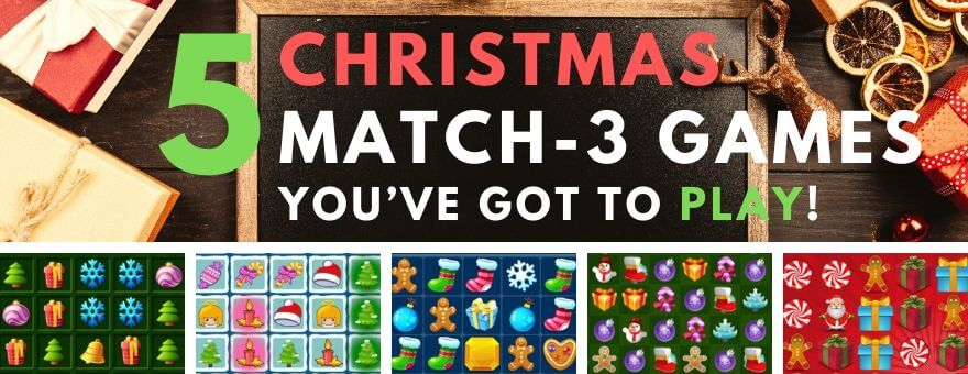 5 Christmas Themed Match-3 Games You've Got to Play! large