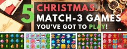 5 Christmas Themed Match-3 Games You've Got to Play! thumb