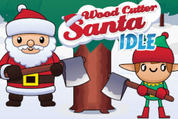 Wood Cutter Santa Idle thumb